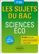 Sciences éco, terminale ES